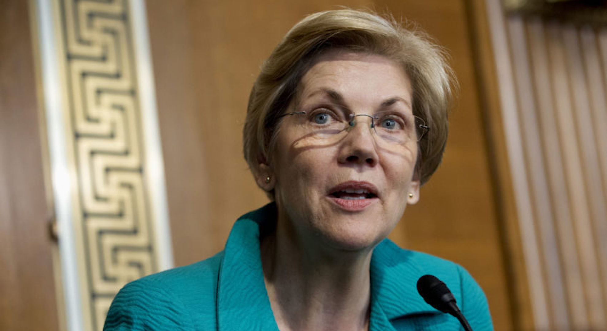 AP Photo: Elizabeth Warren