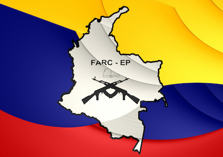 Flag of FARC