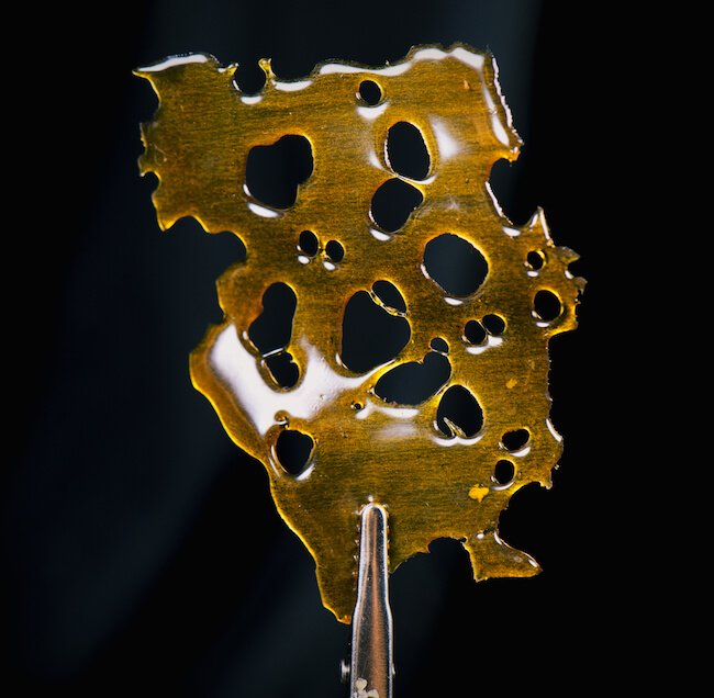 Cannabis wax, shatter
