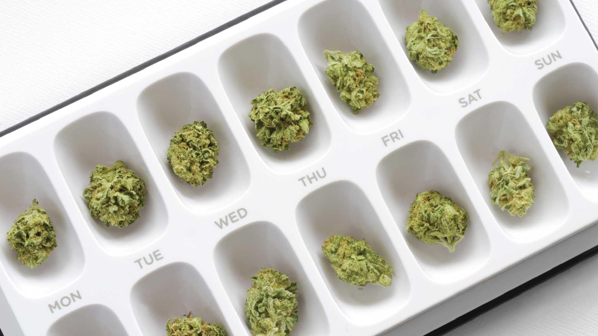 Microdosing gets you the health without the high