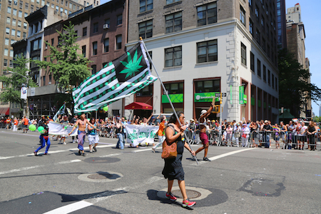 cannabis parade