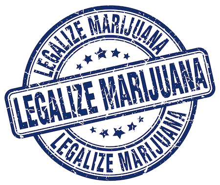 Legalize marijuana stamp