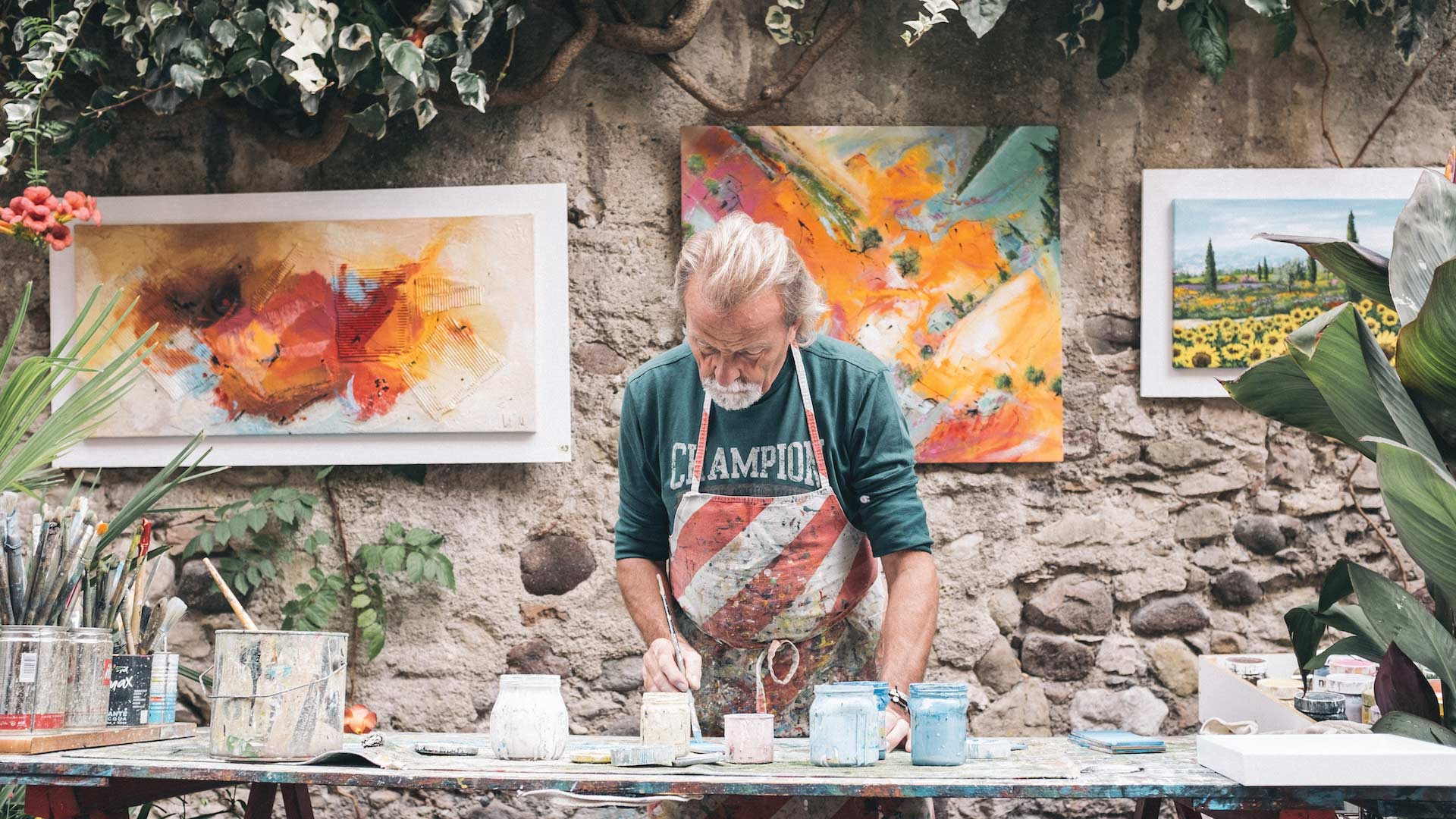 Art inspiration from an herbal muse