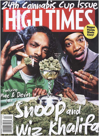 Hightimes magazine, cannabis education