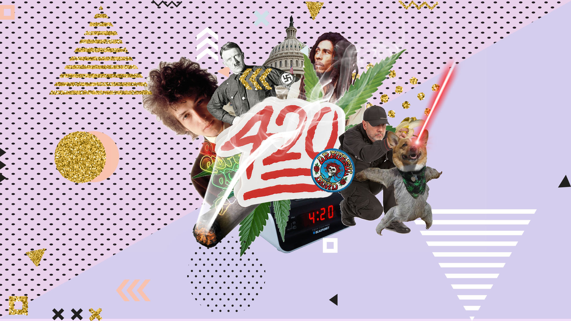 Pop-culture references related to the origins of 420 and its myths.