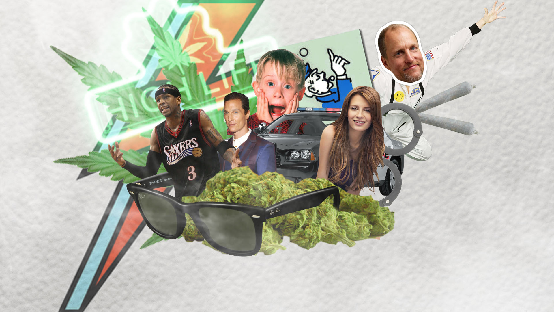 These celebrities have been arrested for cannabis