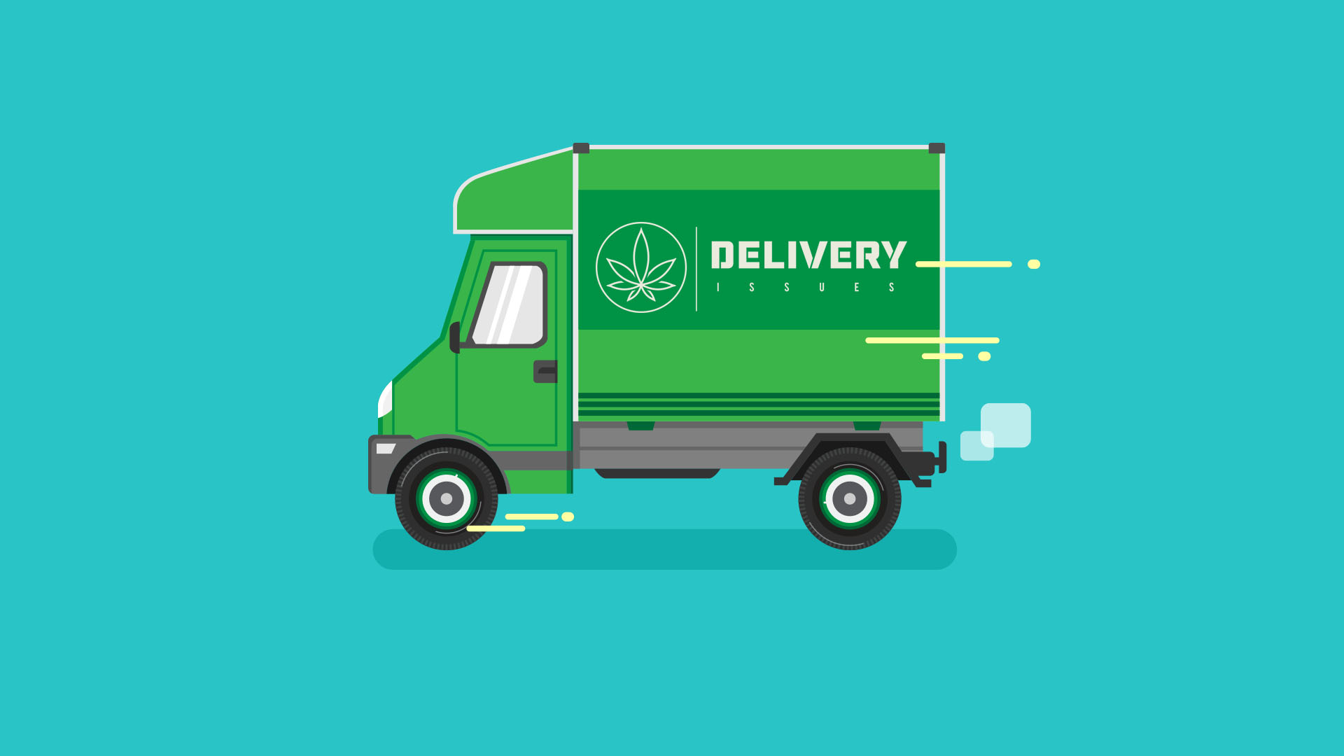 There are some legal issues with the cannabis delivery industry