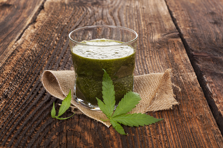 Benefits of juicing raw cannabis