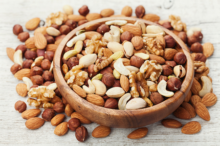 mixed nuts increase the cannabis highs, 420 foods