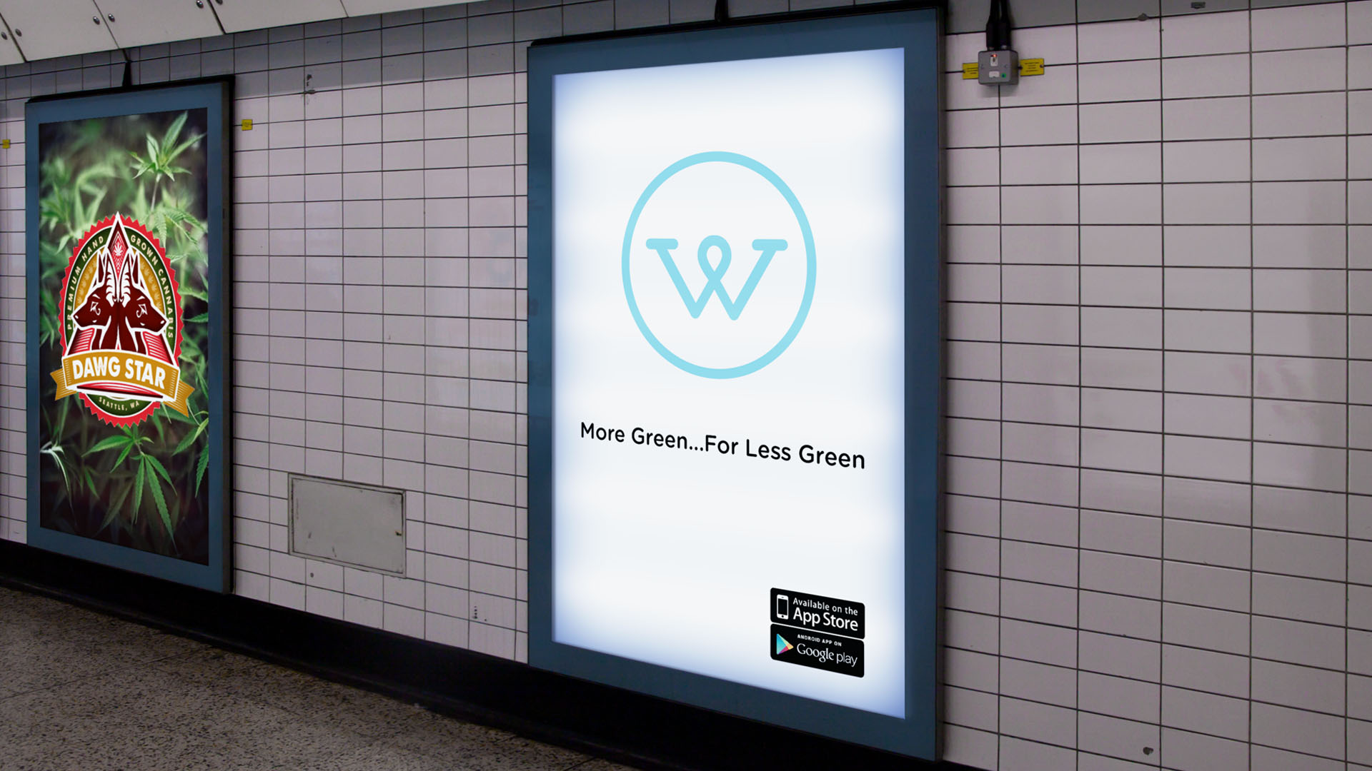 Wikileaf is the first cannabis company to advertise in an airport