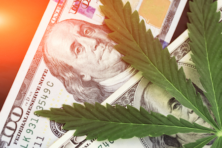 cannabis prices are falling