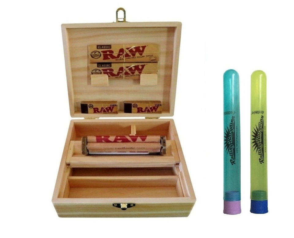 raw rolling kit, dank dad gift