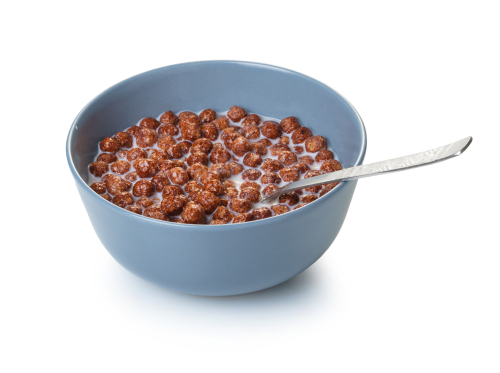 Cocoa puffs are good for the munchies