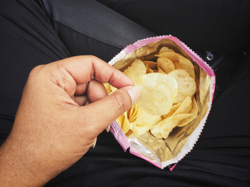 Chips are popular because they're salty