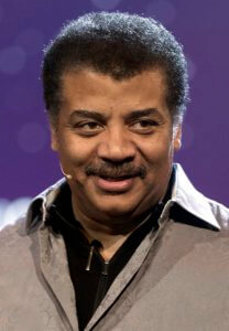 Neil deGrasse Tyson's face.