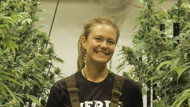 women cannabis growers, women cultivating cannabis