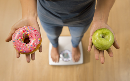 Apple vs. Donut