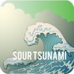 cannabis sour tsunami strain icon