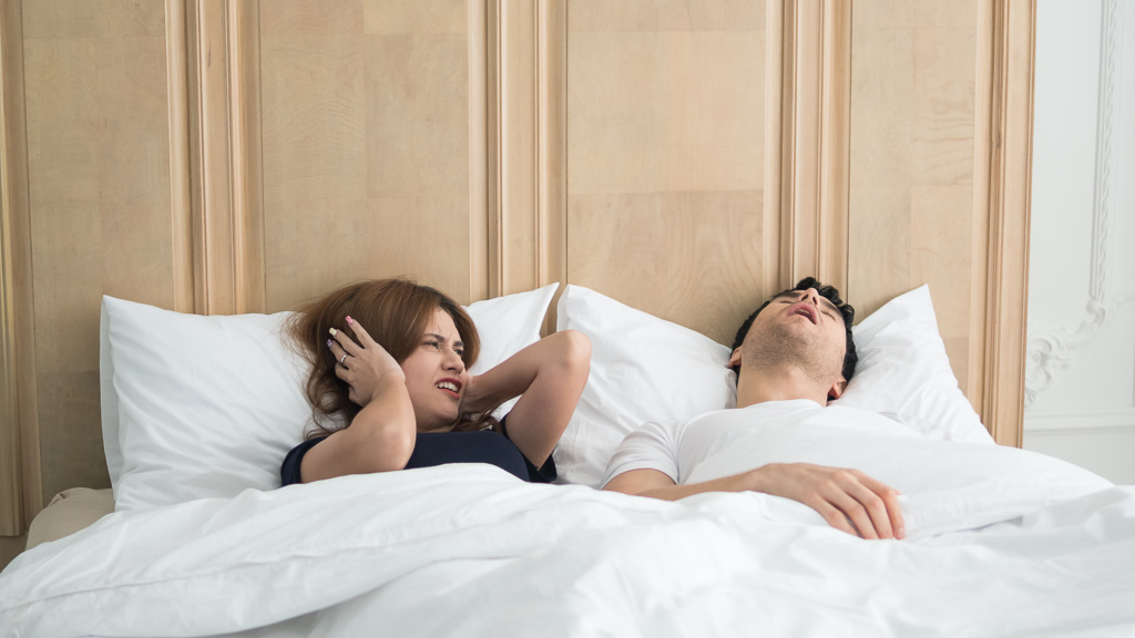 Snoring and Cannabis: Can Pot Save Your Marriage?