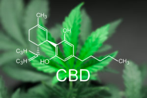 CBD doesn't have psychoactive effects