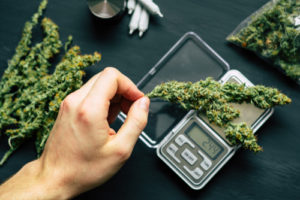 Don't sell cannabis without a license