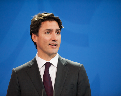 Justin Trudeau was elected Prime Minister in 2015
