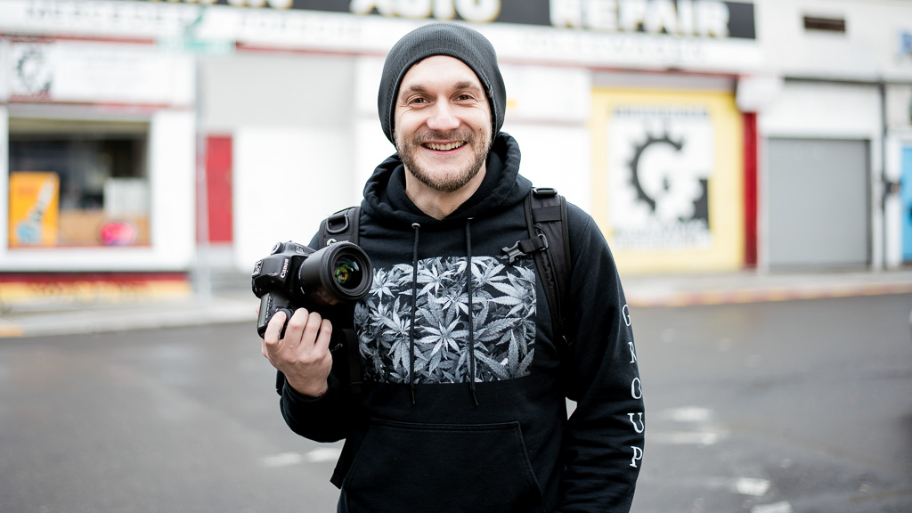 Meet cannabis photographer, Oleg Zharsky
