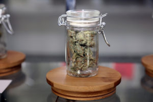 You should store your weed in a glass jar