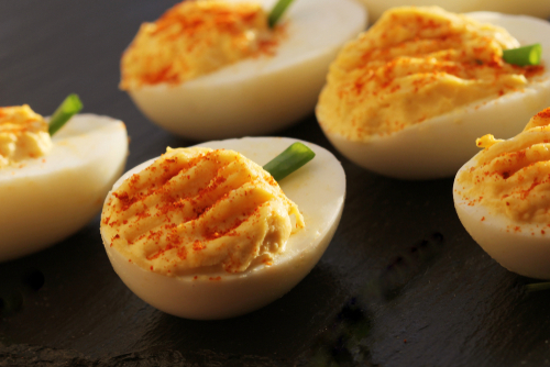 Deviled eggs are a great summer appetizer