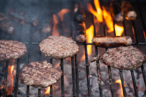 Burgers are a staple for summer cookouts