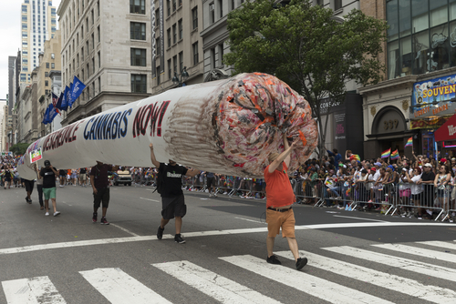 Cannabis activists take to the streets in New York
