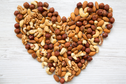 Eat nuts high in Omega 3