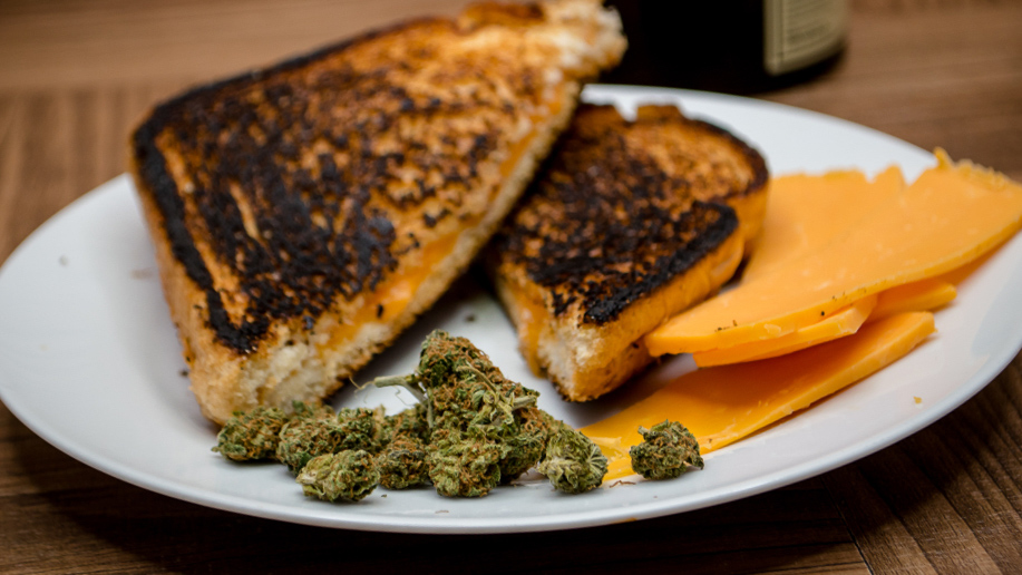 Try pairing cannabis with cheese