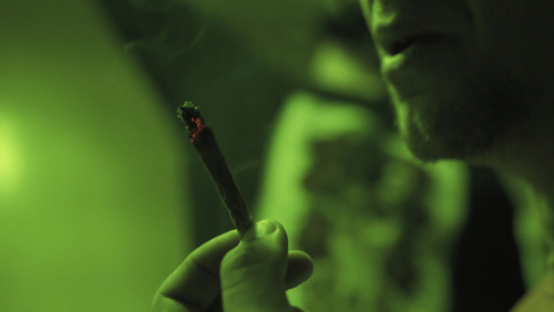 Joint burning in green light