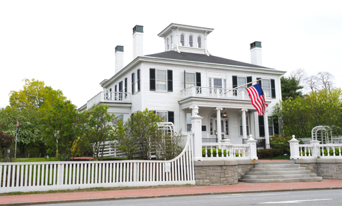 The Blaine House where the governor of Maine lives