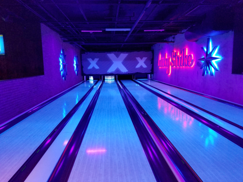 Bowling alley from The Big Lebowski