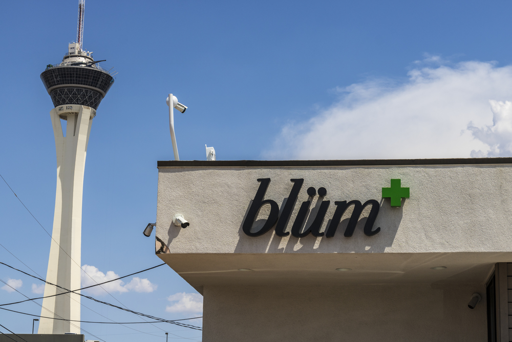 Blum dispensary in Las Vegas, Nevada