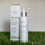 Sagely CBD lotion product photography.