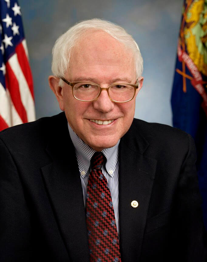 Bernie Sanders official headshot