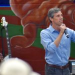 Beto Rally at the Pan American Neighborhood Park, Austin