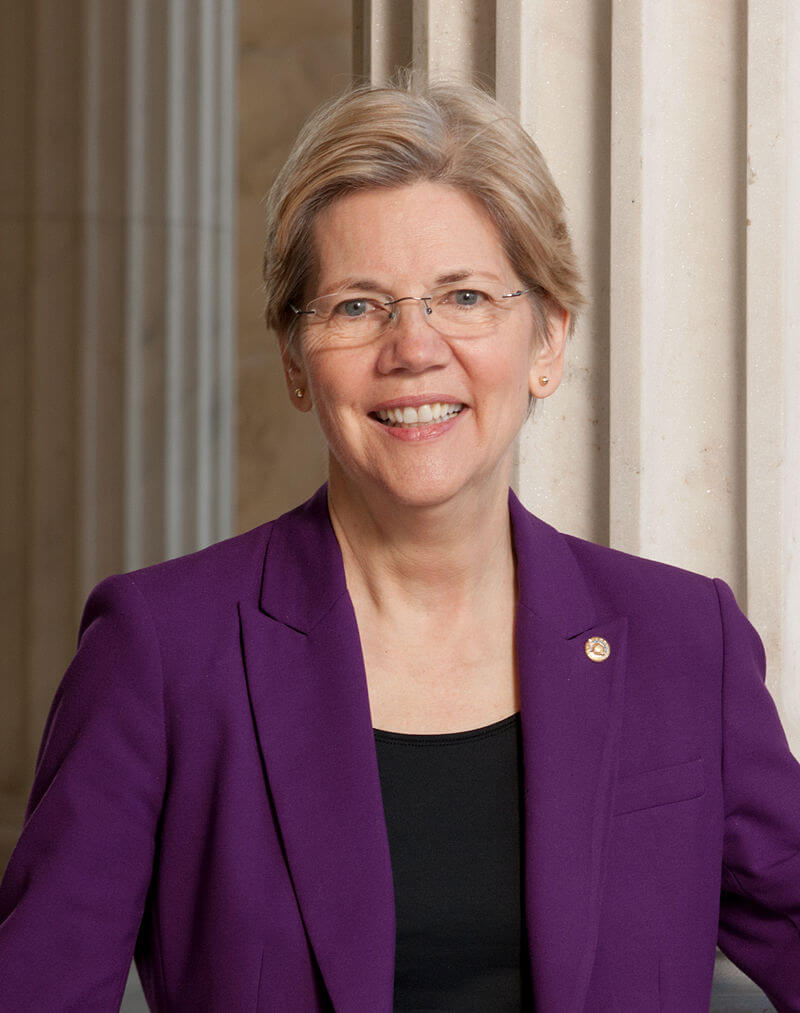 Elizabeth Warren official headshot