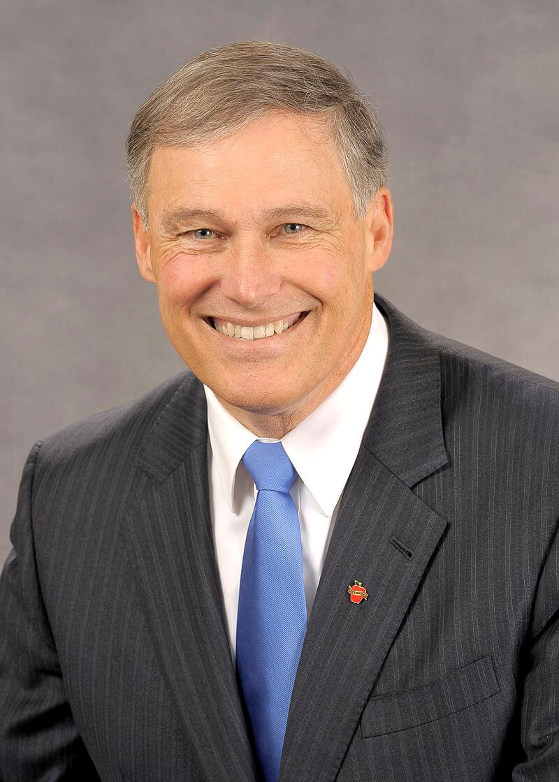 Jay Inslee official headshot