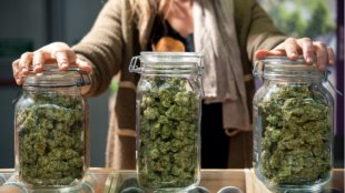 store your weed in a jar to keep it moist
