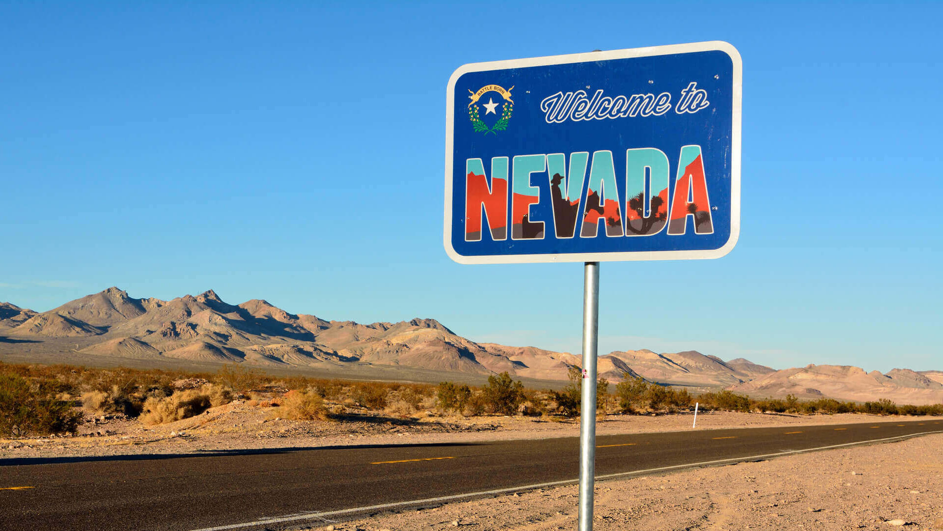 Nevada state sign