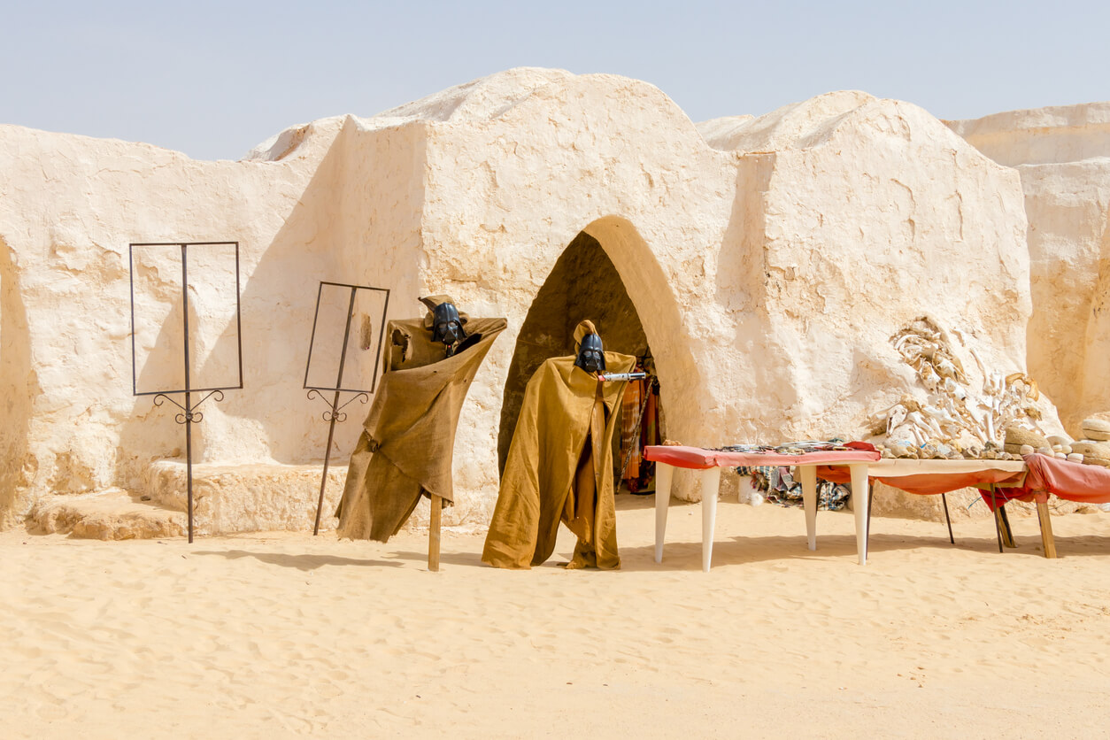 Set Mos Espa - many scenes in the Star War serieis were filmed at this location