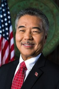 Governor David Ige, Hawaii