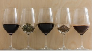 What is marijuana wine