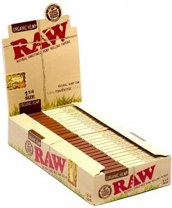 Raw Unrefined Cigarette Rolling Papers
