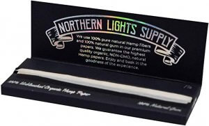 Northern Lights Supply Unrefined Hemp Classic Rolling Papers