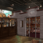 a rendering of The Joint at Smokin Gun Apothecary in Glendale, CO